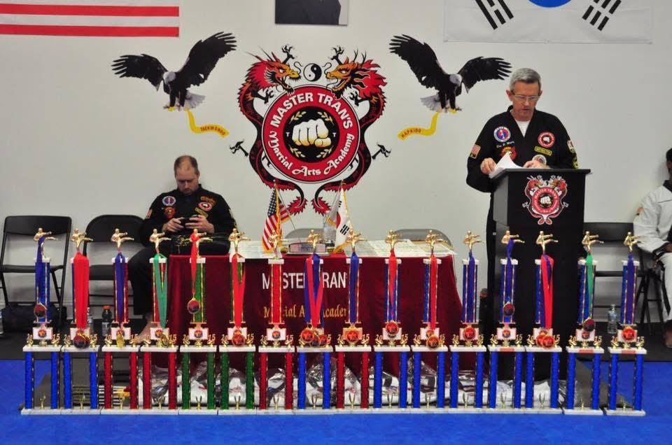 Champions of the Hwang Martial Arts Tournament